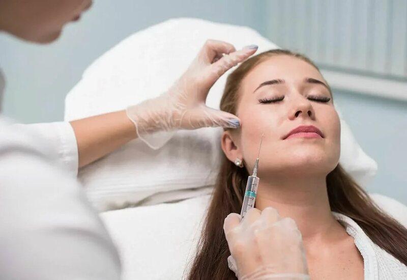 Омоложение кожи лица. Ботокс, пилинг, мезотерапия