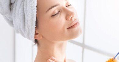 Уход за кожей шеи в холодное время