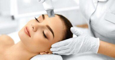 Ультразвуковая чистка лица для чувствительной кожи